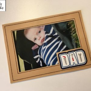 dad tool pic frame in the hoop embroidery file by spunkystitches