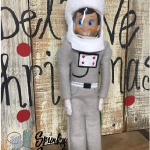 astronaut costume for elf in the hoop embroidery file by spunky stitches