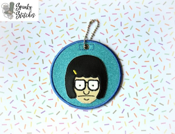 tina ornament in the hoop embroidery file by spunky stitches.